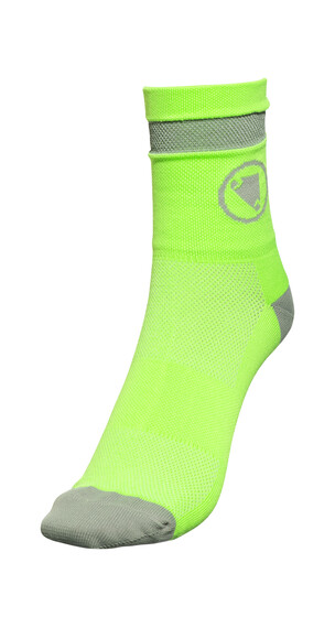 Endura Luminite Socks TwinPack hi-viz green/reflective